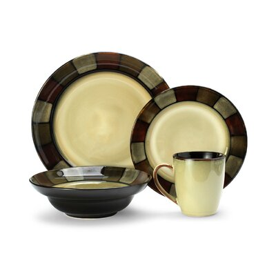 Taos Everyday 16 Piece Dinnerware Set, Service for 4 5054590