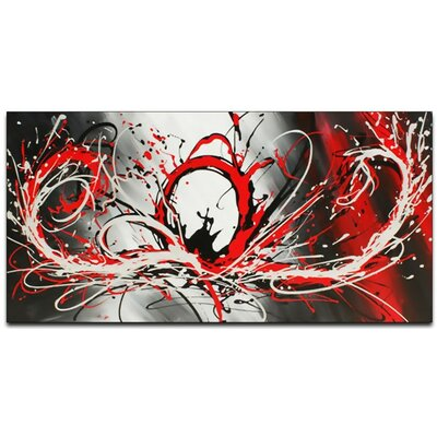 Splash Abstract Painting on Canvas OL414s