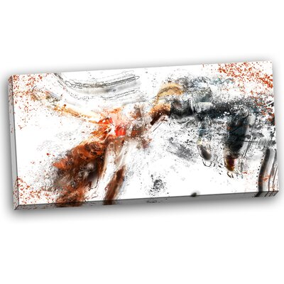 High Jump Athlete Graphic Art on Wrapped Canvas PT2519-32-16