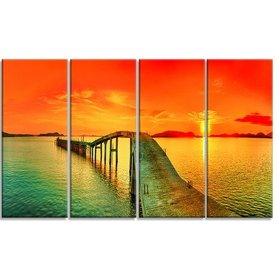 'Fabulous Sunset Panorama' Photographic Print MT6908-28-12