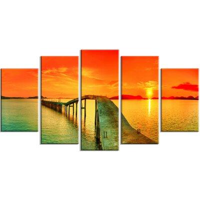 'Fabulous Sunset Panorama' Photographic Print MT6908-373