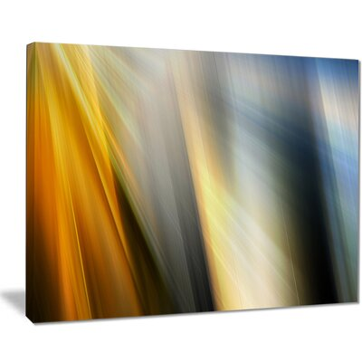 'Rays of Speed Vertical' Graphic Art on Wrapped Canvas PT8134-40-30
