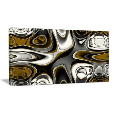 'Fantastic Fractal Abstract Pattern' Graphic Art on Wrapped Canvas PT14474-20-12