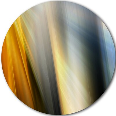 'Rays of Speed Vertical' Graphic Art Print on Metal MT8134-C23