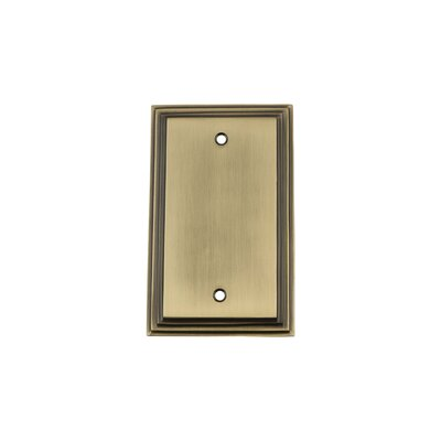 Deco Light Socket Plate Finish: Antique Brass