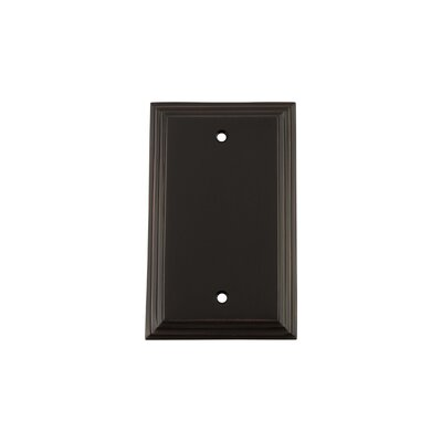 Deco Light Socket Plate Finish: Timeless Bronze