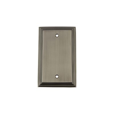 Deco Light Socket Plate Finish: Antique Pewter