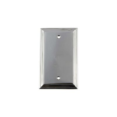 Deco Light Socket Plate Finish: Bright Chrome