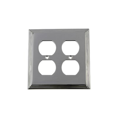 Deco Light Switch Plate Finish: Bright Chrome