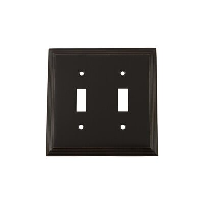 Deco Light Switch Plate Finish: Timeless Bronze