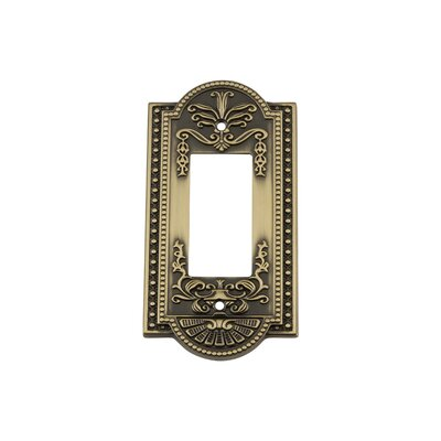 Meadows Light Switch Plate Finish: Antique Brass
