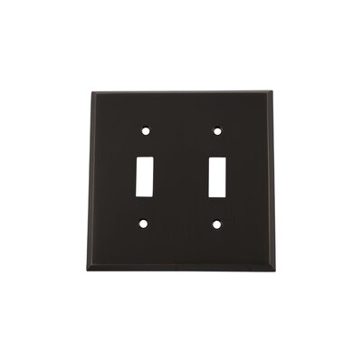 New York Light Switch Plate Finish: Timeless Bronze