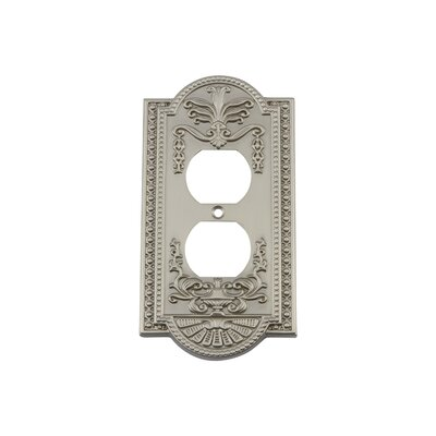 Meadows Light Switch Plate Finish: Satin Nickel