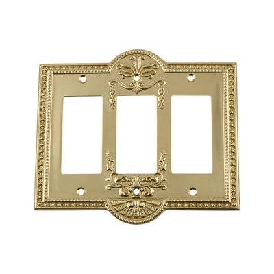 Meadows Light Switch Plate Finish: Unlacquered Brass