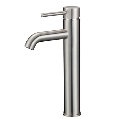 Single Handle Bathroom Sink Faucet Finish: Brushed Nickel