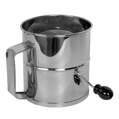 8 Cup Stainless Steel Flour Sifter SLFS008