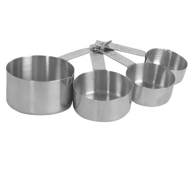 4 Piece Stainless Steel Measuring Cup Set SLMC2414