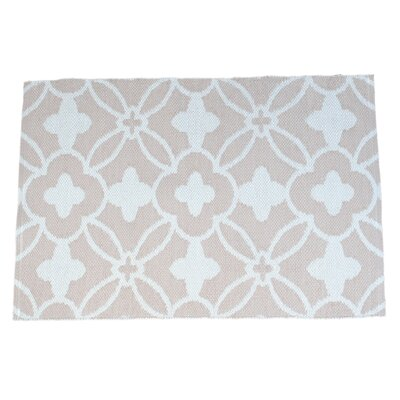 Fleur Hand-Knotted Indoor/Outdoor Area Rug Rug Size: 4' x 6'