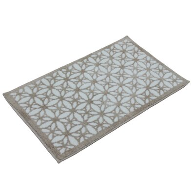 Tiffany Bath Rug Color: Smoke Grey