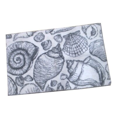 Toi Shell Bath Rug