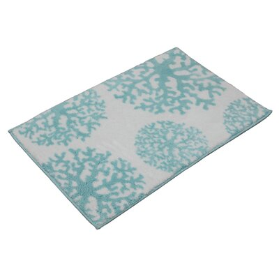 Grand Cayman Bath Rug Color: Turquoise