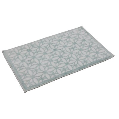 Tiffany Bath Rug Color: Icy Morn