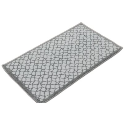 Stain Glass Bath Rug Color: Drizzle