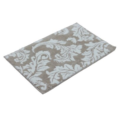 Belcourt Bath Rug Color: Smoke Grey