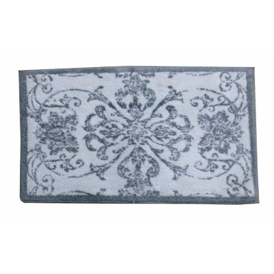 Veronica Bath Rug Color: Ether
