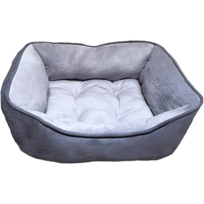 Reversible Pet Bed Color: Gray