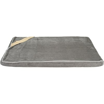 Memory Foam Dog Bed Color: Dark Gray