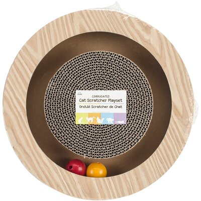 Round Play Scratching Board