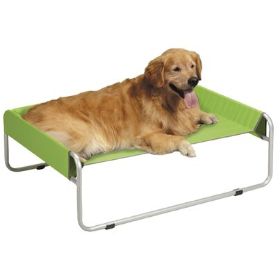 Pet Cot Size: Large (27.5 L x 35.5 W), Color: Green