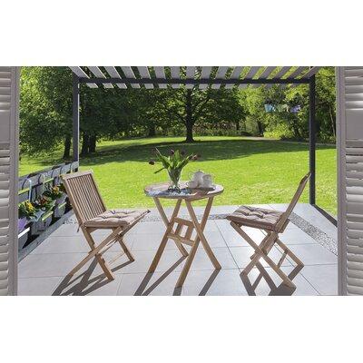 2-Sitzer Balkonset Roma | Garten > Balkon > Balkon-Sets | Naturalbrown | Holz - Rattan | SAM Stil Art Möbel GmbH