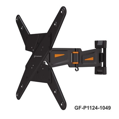 Full Motion TV Wall Mount for 23-55 Flat Panel Screens