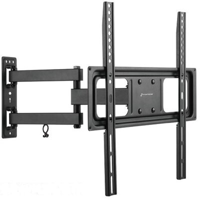 Full Motion Tilt and Swivel Articulating Arm Wall Mount for 32-55 Flat Panel Screens