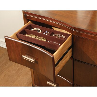 Bad credit financing Cypress Pointe 9 Drawer Dresser Fin...