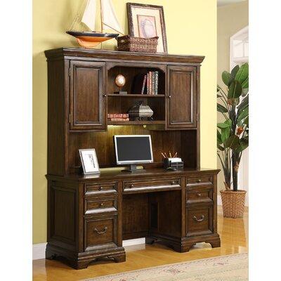 cheap woodlands computer desk with hutch for sale. Black Bedroom Furniture Sets. Home Design Ideas