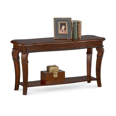 Cheap Wynwood Granada Sofa and Console Table in Cordillera Pine (WYF1185)