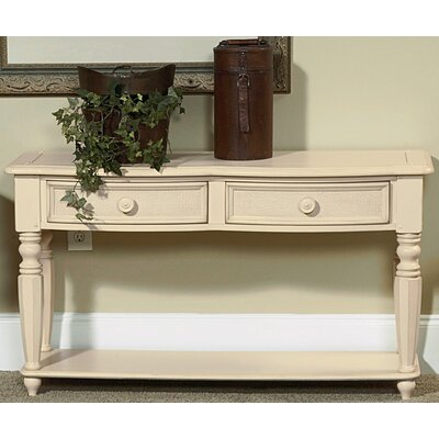 Cheap Wynwood Hadley Pointe Sofa Table in Antique Parchment (WYF1212)