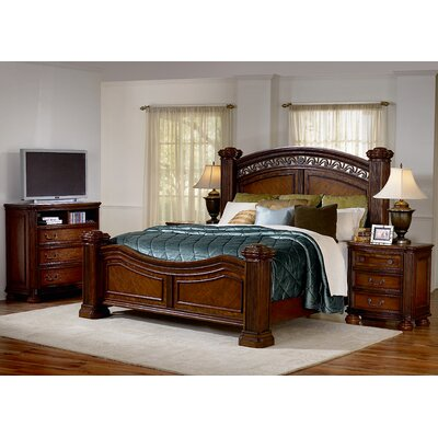 Low Price Wynwood Las Brisas Mansion Panel Bedroom Collection