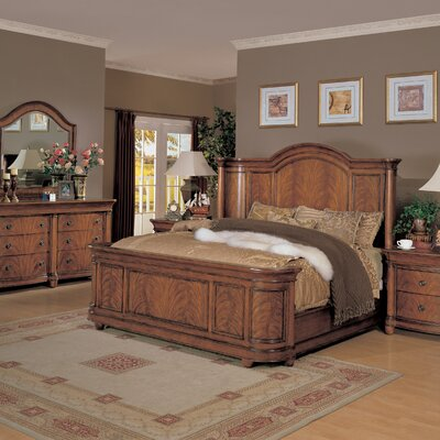 Financing Vienna Court Panel Bed Size: Califo...