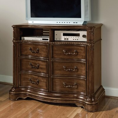 No credit check financing Heritage Manor 3 Drawer Media Chest...