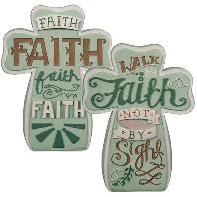 Faith Artisan Decorative Cross (Set of 3) 74052