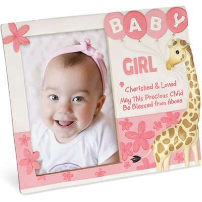 Cherished Blessings Girl Picture Frame 13154