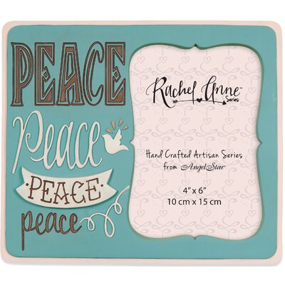 Peace Artisan Picture Frame 74074