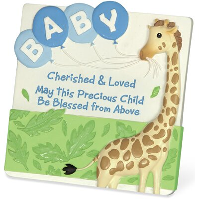 Cherished Blessings Boy Graphic Art Plaque (Set of 3) 13157