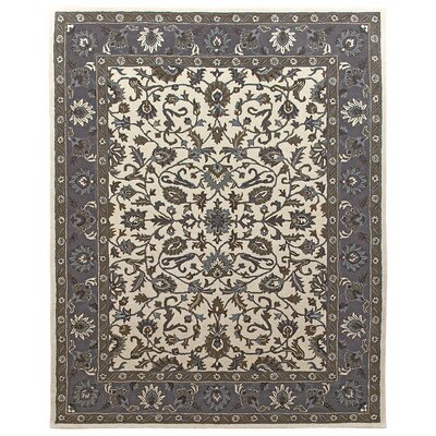 Ziegler Hand-Tufted Sand/Pearl Area Rug Rug Size: 36 x 56