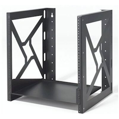 Wall Mount Rack Rack Spaces: 12U Spaces