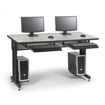 ACTT Height Adjustable Training Table Tabletop Finish: Folkstone, Size: 28-35 H x 60 W x 24 D